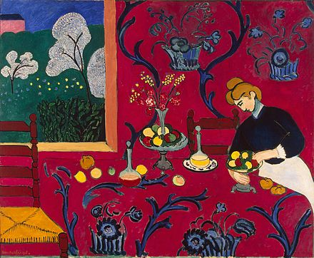 Matisse-The-Dessert-Harmony-in-Red-Henri-1908-fast